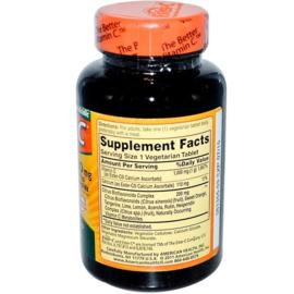 American Health Ester-C, 1000 mg met 200 mg bioflavonoïden, 90 vegetarische tabletten