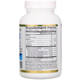 California Gold, Omega 3, Triglyceride vorm, 180 EPA/120 DHA, 100 softgels van visgelatine