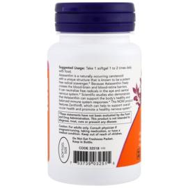 Now Foods Astaxanthine, 4 mg, 60 vegetarische softgels