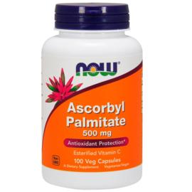 Now Foods Vitamine C Ascorbyl Palmitaat, 500 mg, 100 vegetarische capsules