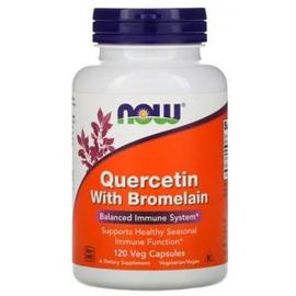 Now Foods, Quercetine met Bromelaïne, 120 vegetarische capsules