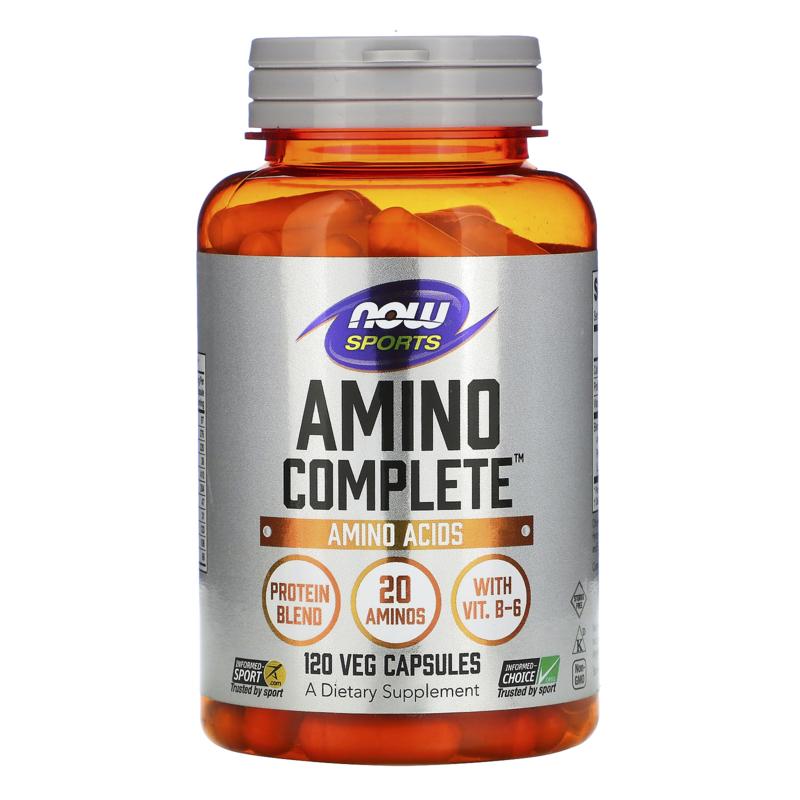 Now Foods, Amino Compleet, 120 vegetarische capsules