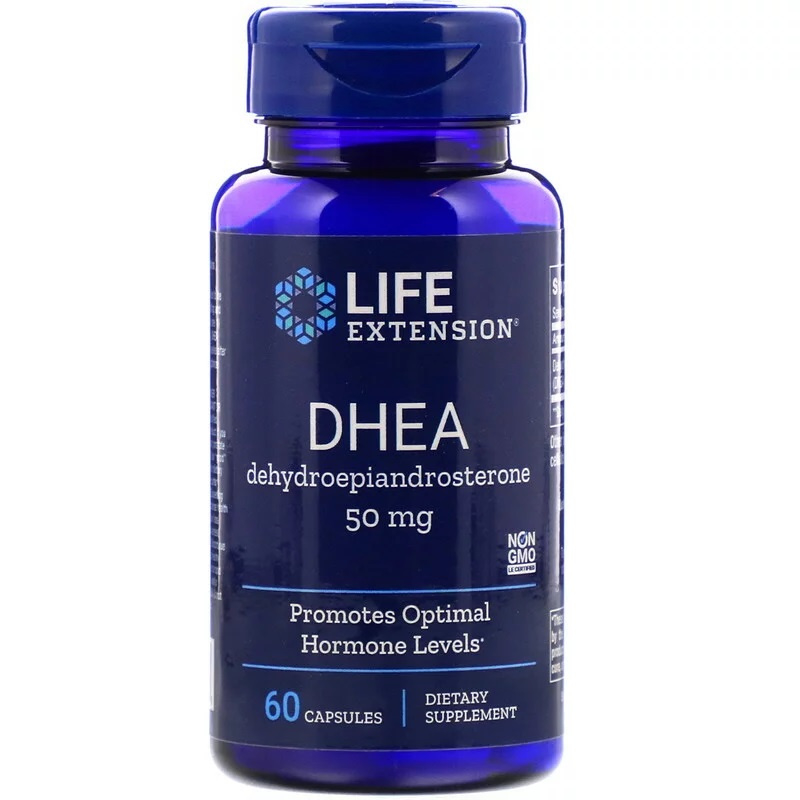 Life Extension DHEA, 50 mg , 60 capsules