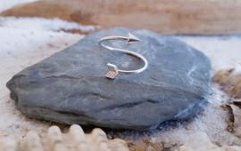 Ringen - Arrow Zilver