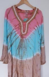 Tuniek Shell Tie Dye - Pink L