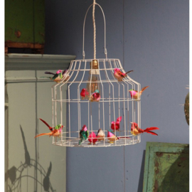 Dutch Dilight - Witte hanglamp vogels