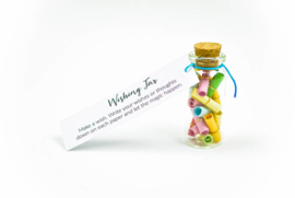 Wishing Jar Wens Flesje met papiertjes Wishing Jars