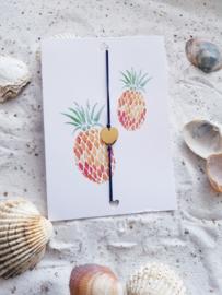 Wenskaart Ananas