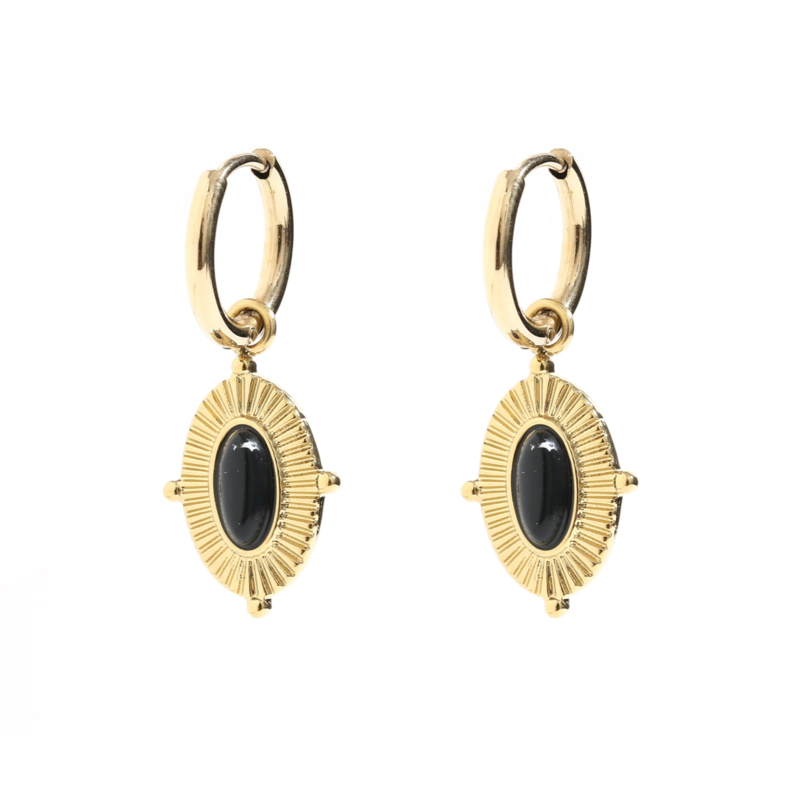 Over the Moon -Black/Gold