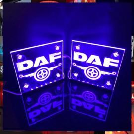 2x Lichtbakjes Daf 15x15