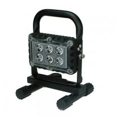 LED WERKLAMP USB OPLAADBAAR 18 WATT / 1200 LUMEN 12/24V