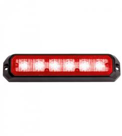 Led flitsers rood 12/24 volt