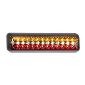 LED achterlicht slimline met achteruitrijlamp 12-24v