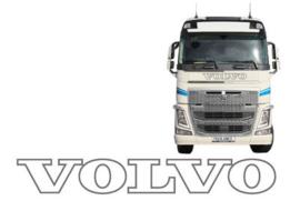 XL FRONT STICKER VOLVO - OUTLINE