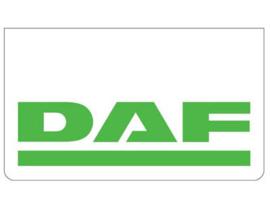 Spatlap voorbumper wit + DAF groen