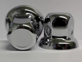 RVS wielmoerdop 32mm voor aluminium wielen - 45mm hoog