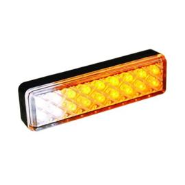 LED knipper-markeerlicht slimline 12-24v