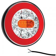 LED ACHTERLICHT ZONDER KENTEKENVERL. 12/36V 1M. KABEL