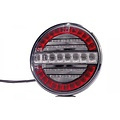 LED mist- en achteruitrijlicht  12-24v  100cm. kabel