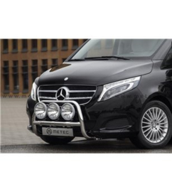MB V class + VITO 14+ FRONTBAR 2x lamp fixings