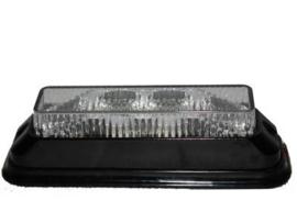 Flitser 4 x 3W LED, 12-24V Oranje