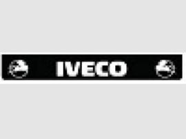 Spatlap achterbumper zwart Iveco in wit