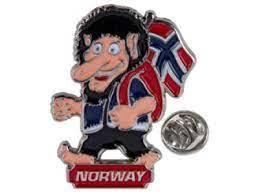 Troll Norway-pin