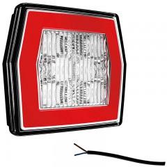 LED ACHTERUITRIJLAMO MET ACHTERLICHT 12/36V 1M. KABEL