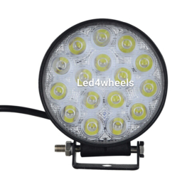 Led werklamp rond 48 watt 12v/24v