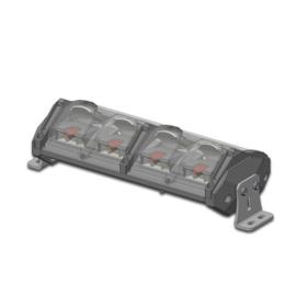 Ledbar dimbaar groot/dimlicht met RGB stadlicht 124 watt