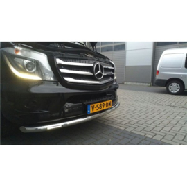 M.BENZ SPRINTER W906 2013+ Front Grill 5 St. rvs hoogglans