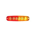 LED Achterlicht ultra compact 12v/24v 25cm kabel