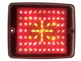 Gylle Achter-/remlicht en knipperlicht LED 10-30V