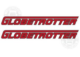 GLOBETROTTER - TWEEKLEURIGE STICKER