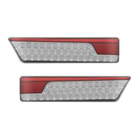 Neon led   twinpack achterlicht links met dynamisch knipperlicht 12/24v