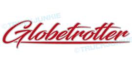 GLOBETROTTER -2-KLEUREN - STICKER