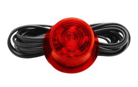 Gylle led breedte lamp rood