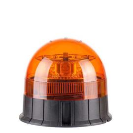 LED Zwaailamp Amber R65 met 3-bouts montagevoet 12v/24v