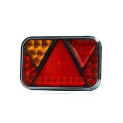 LED linker achterlicht met mistlicht 12v