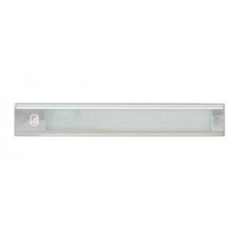 LED Interieurverlichting incl touch schakelaar ZILVER 26cm 12V koud wit