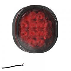 LED MISTLICHT 12/24V 0,5M. KABEL (VLAKKE MONTAGE)