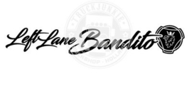 SCANIA - LEFT LANE BANDITO - STICKER
