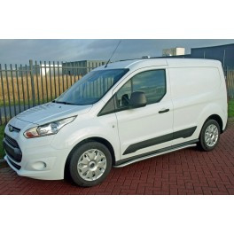 Ford Connect L1 H1 2014- sidebar-set geborsteld RVS