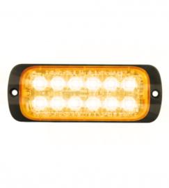 LED FLITSER WIT ST12 ZEER PLAT 12-24 VOLT