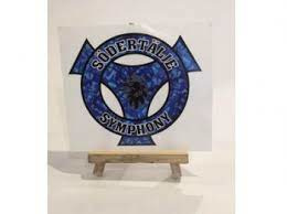Sodertalje Symphony blauw- sticker
