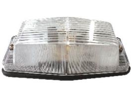 Dubbelbrander met helder lampglas budget