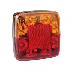LED compact achterlicht zonder kentekenverlichting 12v 0,3m. kabel