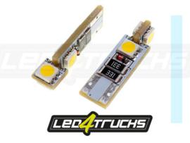 XENON WIT - 4xSMD LED 24V - W3W / W5W PER SET