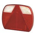 LED slimline rechter achterlicht zonder kentekenverlichting 12-24v