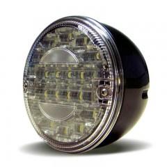 LED ACHTERUITRIJLICHT 12/24V ZONDER. KABEL 140 SERIE